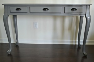 Finished Table with Hardware