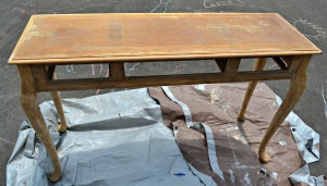 Fully Stripped Table, ready to paint