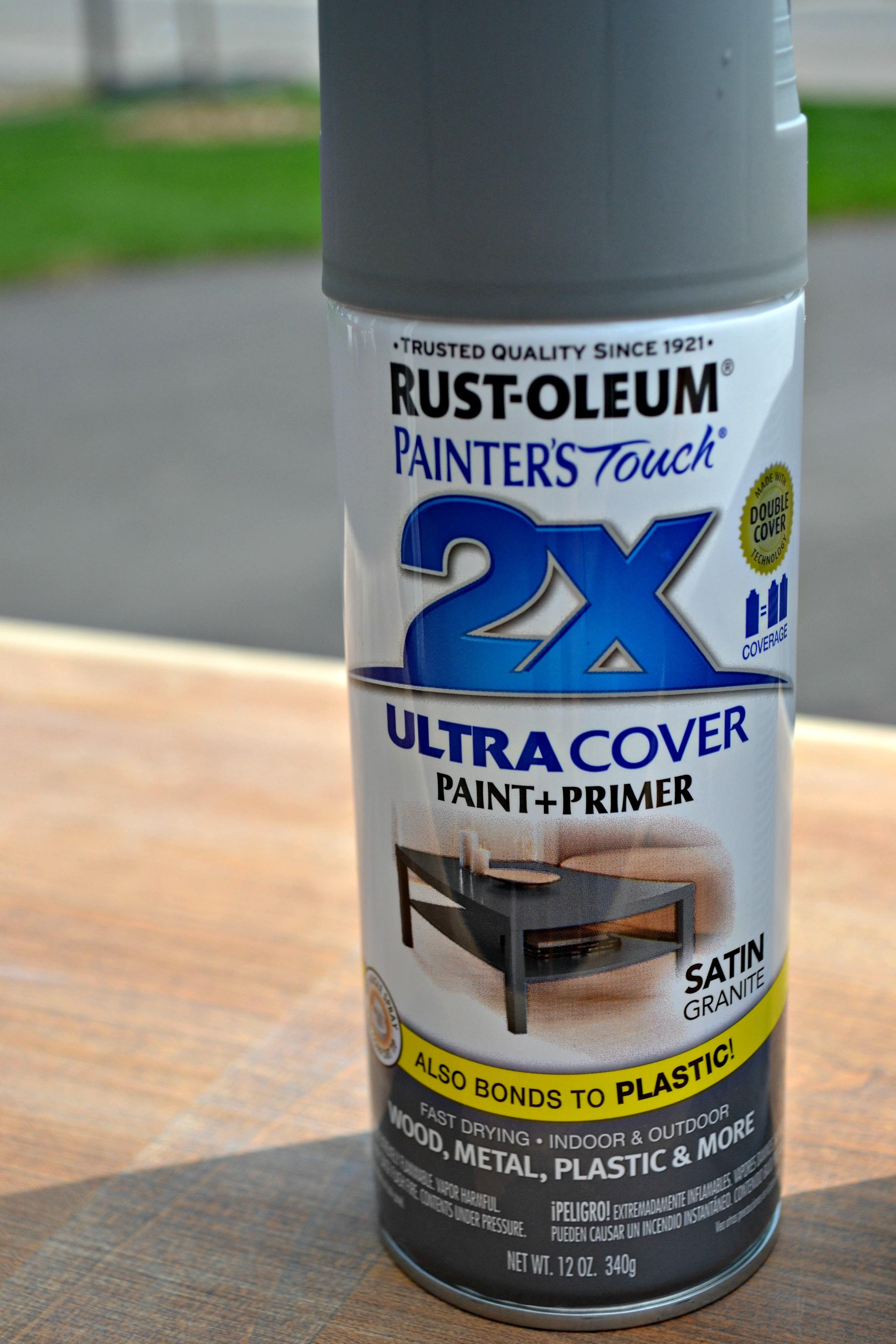 2x Coverage Spray Paint In Satin Granite
