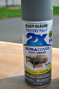 2x Coverage Spray Paint in Satin Granite