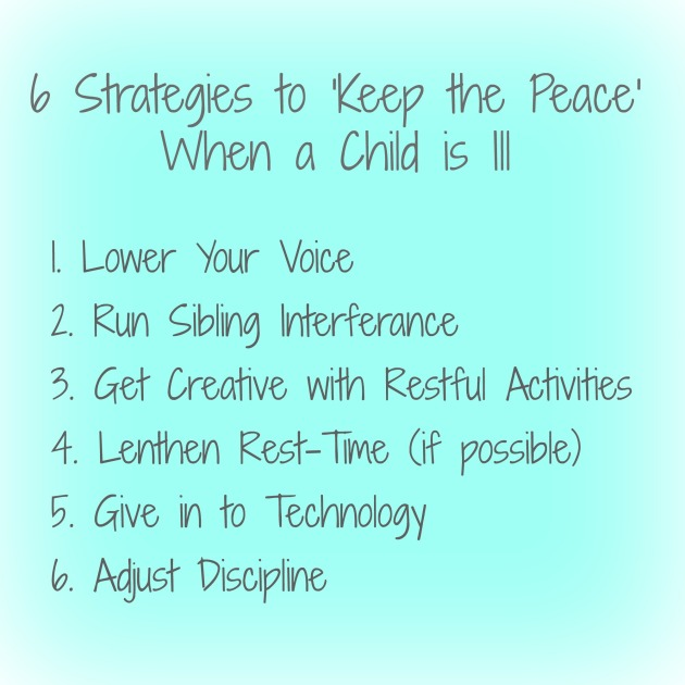 6 strategies for keeping the peace
