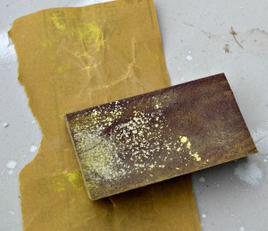 Fine sanding block and 100 grit sand paper