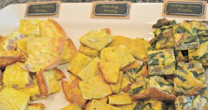 Ham & Cheese, Plain, and Sausage & Spinach Egg Frittatas