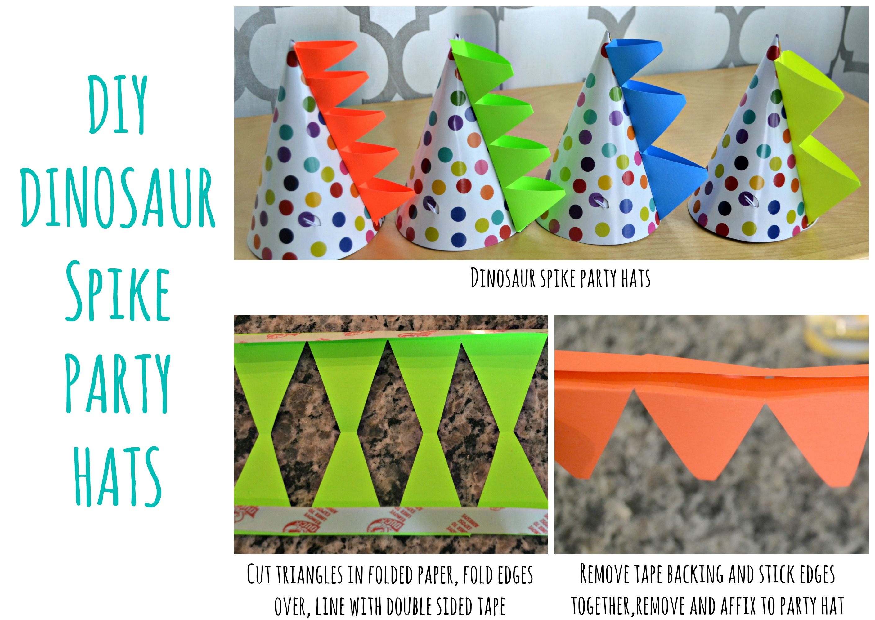 Dinosaur birthday decorations diy image inspiration of cake and dinosaur tail and hat along with a little bag of dinosaur party solutioingenieria Images