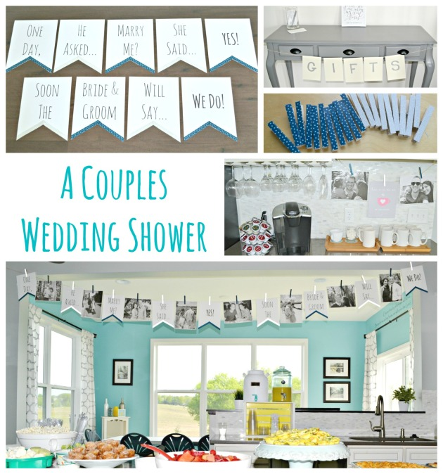 A Couples Wedding Shower | www.thisgratefulmama.com