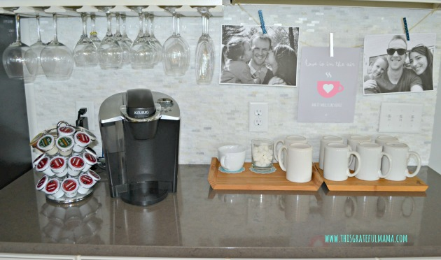 Coffee Station Photo Banner | www.thisgratefulmama.com