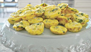 A Couple's Wedding Shower: A Make-Ahead, Crowd-Pleasing Brunch - Mini Frittata | thisgratefulmama.com