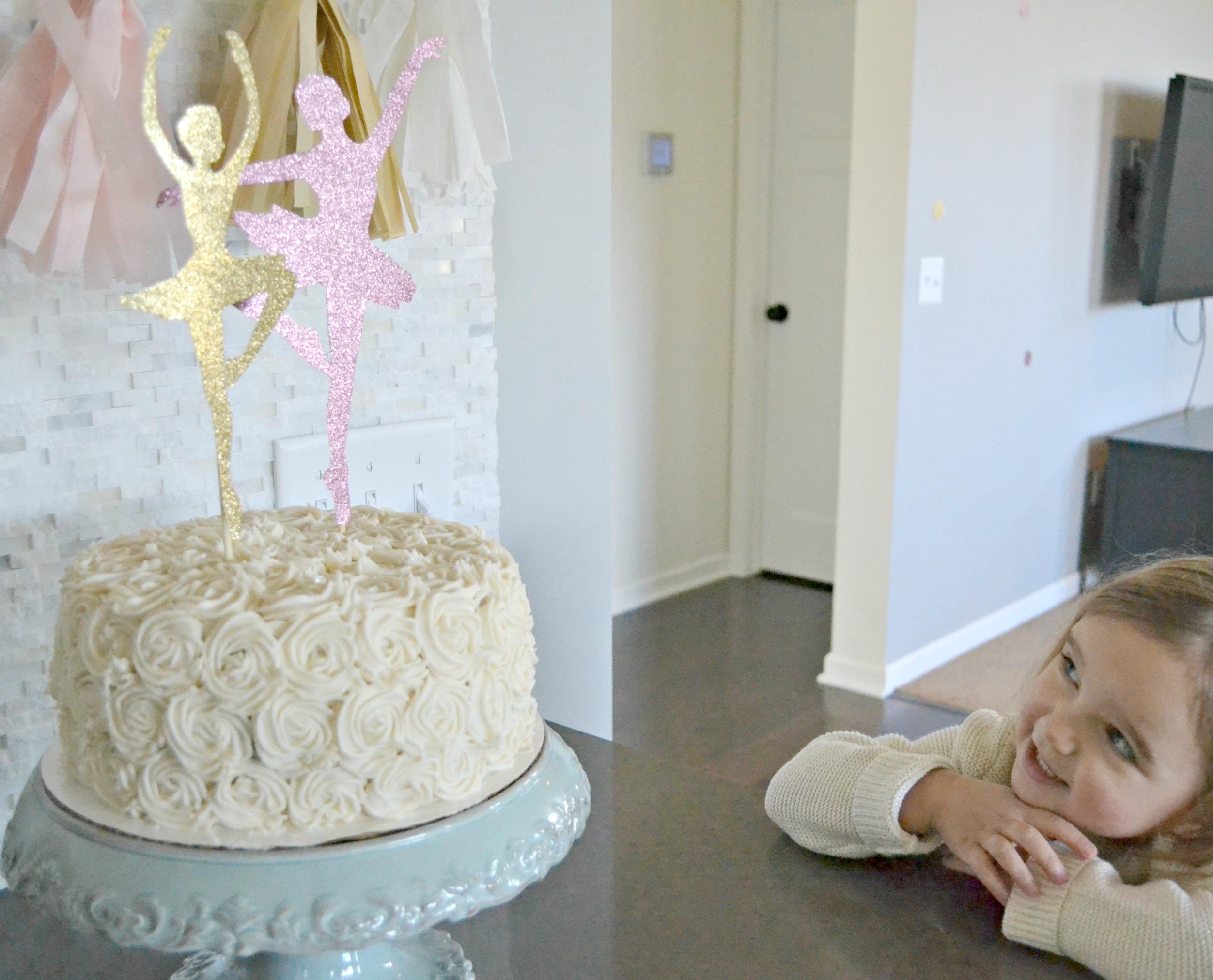 A Ballerina 3 Year Old Birthday A Homemade Ballerina Birthday