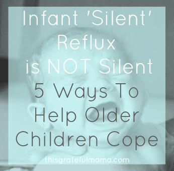 Infant 'Silent' Relux is NOT Silent - 5 Ways To Help Older Children Cope | thisgratefulmama.com