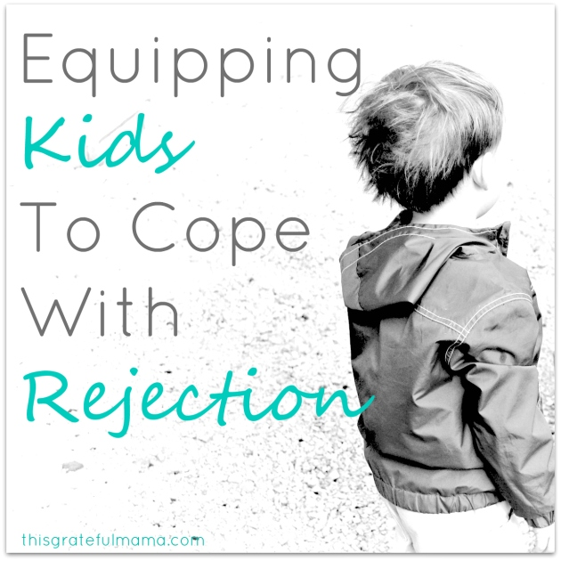 'Hey, You're Not My Friend' - Equipping Kids To Cope With Rejection | thisgratefulmama.com