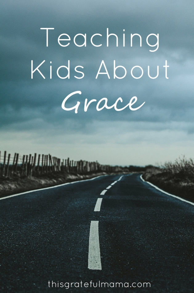 That Time I Got A Speeding Ticket - Teaching Kids About Grace | thisgratefulmama.com